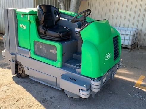 Tennant M20 Car Park Sweeper/Scrubber